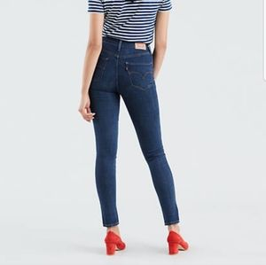 Levi's 721 high-rise skinny jeans (size 30)